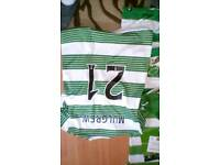 Celtic tops and signed photo