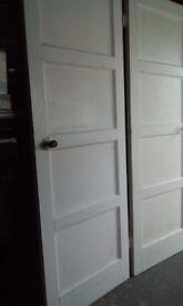 1950's 4 panel doors