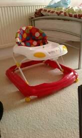 Baby child's toddler walker