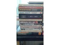 ++++++++ FOR SALE - 67 x UFO / ALIEN PAPERBACK AND HARDBACK BOOKS - £35 THE LOT ++++++++