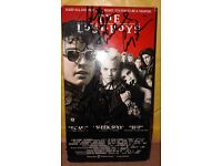 SIGNED X7 LOST BOYS VHS WITH C.O.A