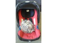 Britax Baby Safe SHR II Red Car Seat £35