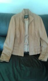 Real Leather Ladies Jacket (small)