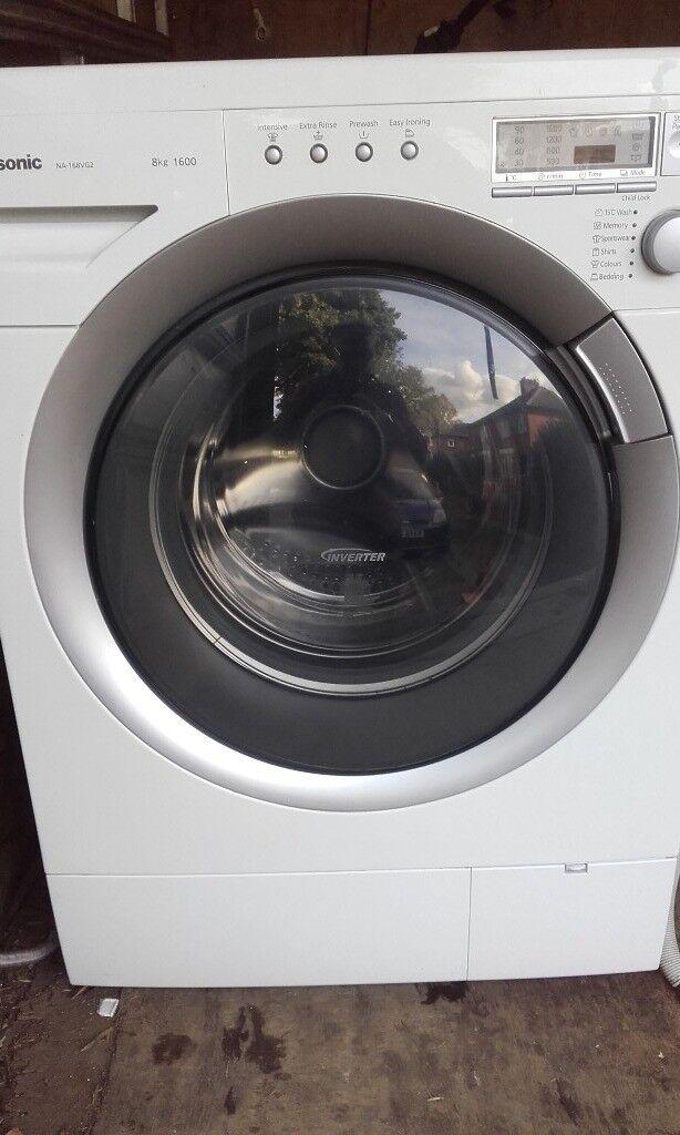 as new panasonic washing machine,8kg,1600 spin
