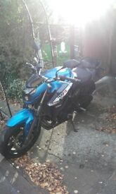 c.f. moto 650i good condition as new only 1500 miles
