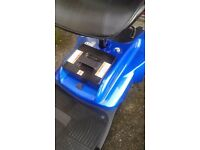 Mobility scooter excellent condition in Blue not needed any more