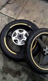 Bandit 600 mk1 wheels