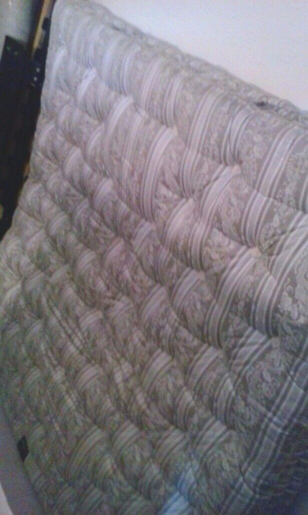 Super king size mattress, HEAL'S (6ft1/6ft6)