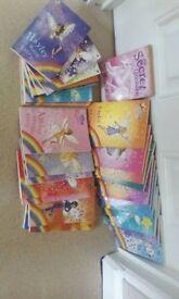 Rainbow magic reading books.