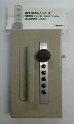 Kaba Ilco Push Button Cabinet Lock