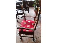 Pure Rose Wood Chairs