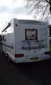 Self contained 4 Berth motorhome to hire £100 deposit req for further details contact 07845141115
