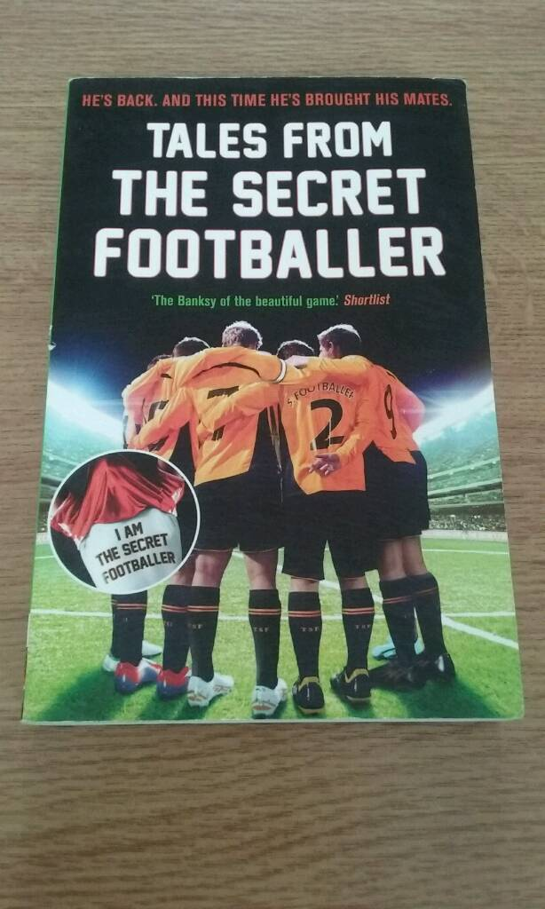 Anon: Tales From The Secret Footballer Paperback (LOW PRICE)