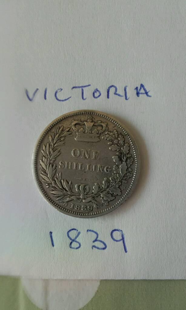 Shillings Victoria 1839 - 1840 - 1841 - 1842