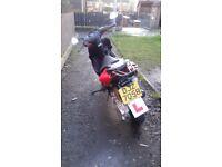 Yamaha 100cc scooter