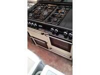 # 7750 Dual Fuel Cookmaster Range 6 Months Warranty