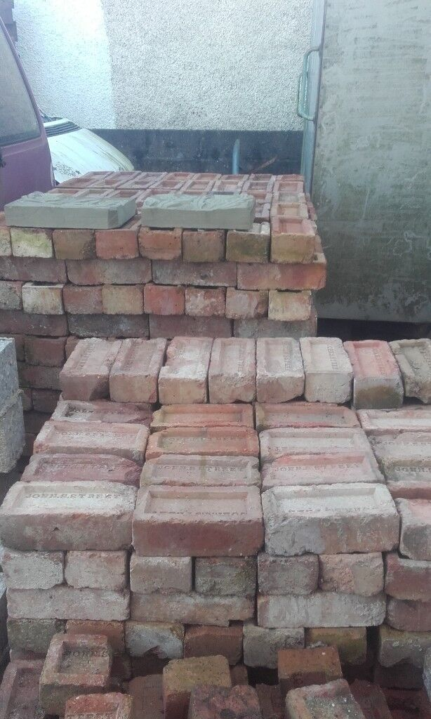 Antique Red Brick for sale.