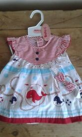 Bundle of wholesale bought baby clothes