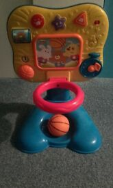Basketball Toy unisex lights and sounds