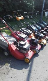 Petrol Lawnmowers for sale various prices