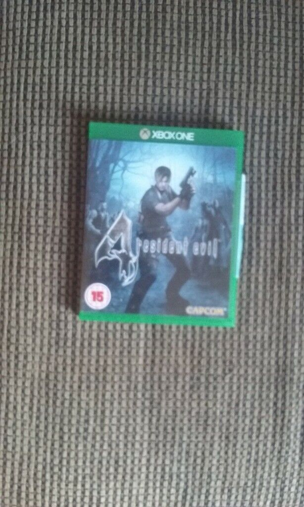 resident evil 4 for the xbox one