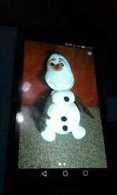TALKING OLAF.