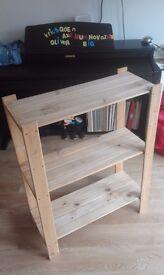 Pine Shelf Storage - Ikea