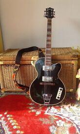 Hutchins retro club guitar