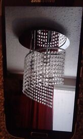 2 ceiling lampshades