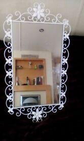 White Decorative Mirror