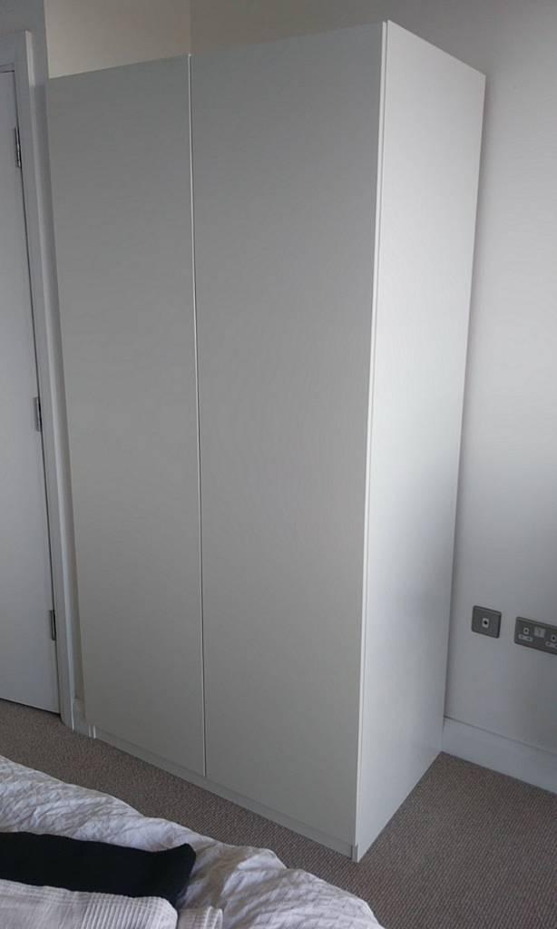 Ikea wardrobein London - Ikea wardrobe.Have handle in packet never opened