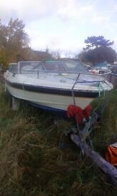 Speedboat with 175 mercury and trailer