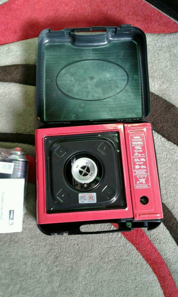 Portable gas camping stove brand new