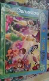Clemontini disney fairies puzzle 104 pieces