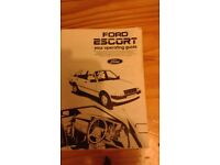 Ford operating guide