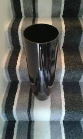 Gloss black vase for sale