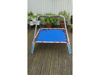 Kids small outdoor trampoline