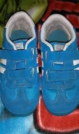 Boys adidas trainers, size 9.