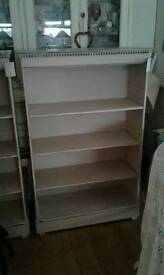 Shabby chic book cases