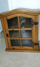 Small wall\ free standing cabinet.