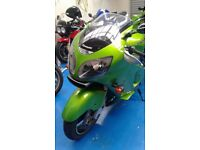 Kawasaki ZX-12R. Enthusiast owned great bike.