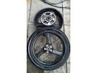 Gsf600 wheels
