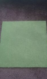 carpet tiles size 50cm x 50cm ime green