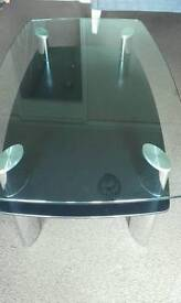 Free Glass coffee table