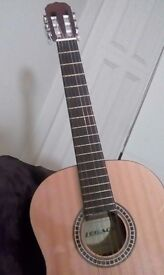 Jose Ferrer Classical Guitar with Carrying Case
