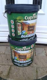 Cuprinol Ducksback Forrest Oak - Large 9L Tub