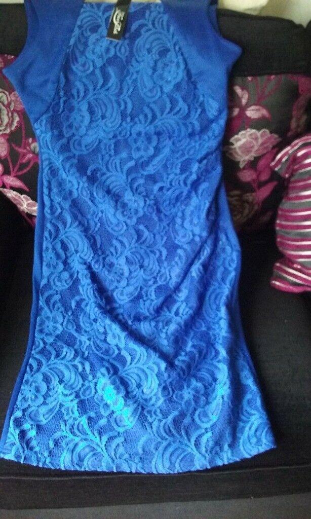 Gorgeous royal blue dress