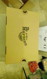 Dr.Martens Men's Airwair Shoes .. Size 8....Brand New in Box.