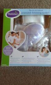 Summer Heart-to-heart Prenatal listening system