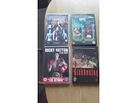 4 x Boxing DVD's ( Total 7 x Disc's )